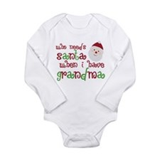 Who Needs Santa Long Sleeve Infant Bodysuit