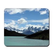 Patagonian Mountainscape - Mousepad