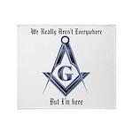 Masons Throw Blanket