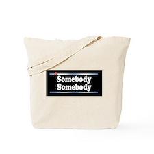 Custom Identity 2 line Tote Bag