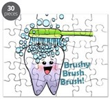 Brushy Brush Brush Puzzle