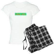 T-shirt humor Pajamas- Kinky Girl