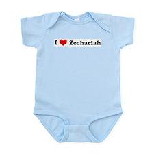 I Love Zechariah Infant Creeper