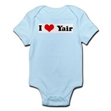 I Love Yair Infant Creeper
