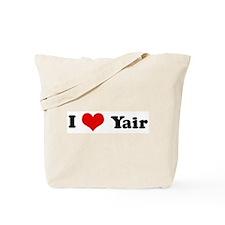 I Love Yair Tote Bag