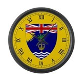Cute Chagos Large Wall Clock