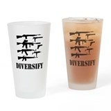 Diversify Drinking Glass