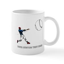 Baseball Player with Custom T Mug