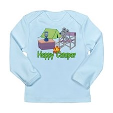 Happy Camper Long Sleeve Infant T-Shirt