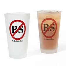 No BS Zone Drinking Glass
