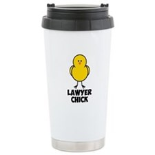 Lawyer Chick Thermos Mug