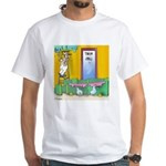 Lab Rats Wallpaper White T-Shirt
