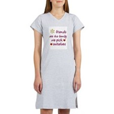 Friends Are Family Women's Nightshirt