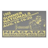 Niagara Drag Strip Decal