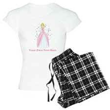 Princess. Custom Text. Pajamas