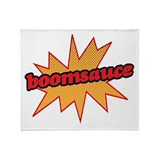 Boomsauce - Explosion Throw Blanket