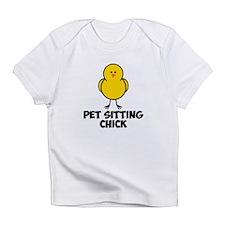 Pet Sitting CHick Infant T-Shirt