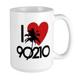 I Love 90210 Ceramic Mugs