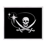Neverland Pirate Throw Blanket