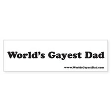 Funny Gay Bumper Sticker