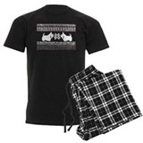Scottish Terrier Holiday Swea pajamas
