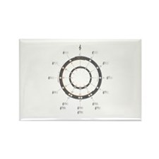 Circle of Fifths Rectangle Magnet (10 pack)