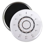 "Circle of Fifths 2.25"" Magnet (10 pack)"
