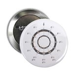 "Circle of Fifths 2.25"" Button (100 pack)"