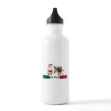 Santa Walking Dominick Water Bottle
