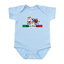 Santa Walking Dominick Infant Bodysuit