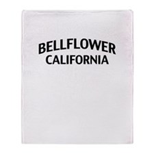 Bellflower California Throw Blanket