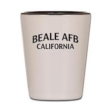Beale AFB California Shot Glass