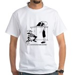 Court Reporter Whisperer White T-Shirt