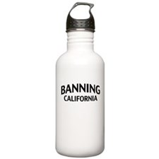 Banning California Water Bottle