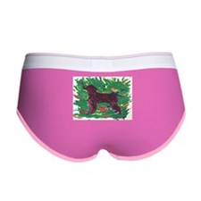 Irish Water Spaniel Women's Boy Brief