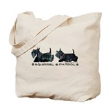Scottie Squirrel Patrol Terri Tote Bag