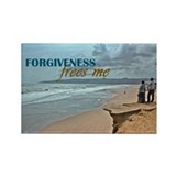 Forgiveness Quote on 100 Rectangle Magnets