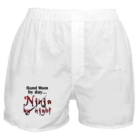 Band Mom Ninja Boxer Shorts