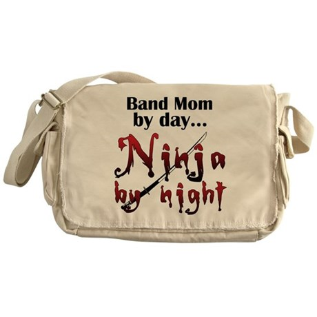 Band Mom Ninja Messenger Bag