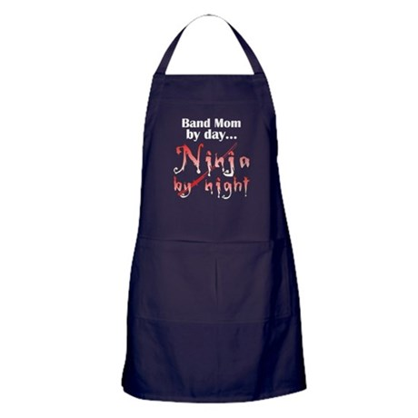 Band Mom Ninja Apron (dark)