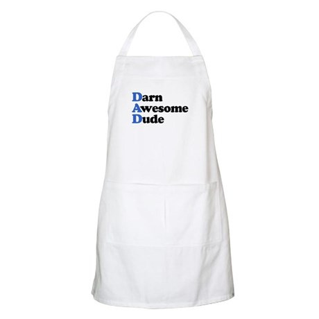 Darn Awesome Dude BBQ Apron