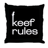 KEEF RULES Throw Pillow