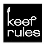 KEEF RULES Tile Coaster
