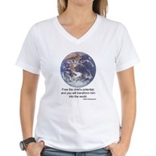 Montessori World Shirt