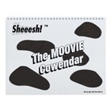 2013 MOOVIE Cowendar Wall Calendar