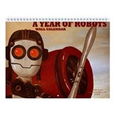 A Year Of Robots 2013 wall calendar.