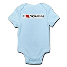 Wyoming Football Infant Creeper