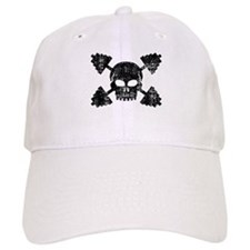 Weightlifting Skull Baseball Cap