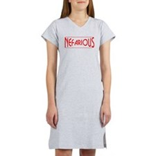 Nefarious Women's Nightshirt