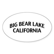 Big Bear Lake California Decal